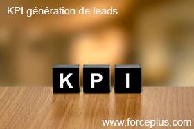 les KPI génération de leads