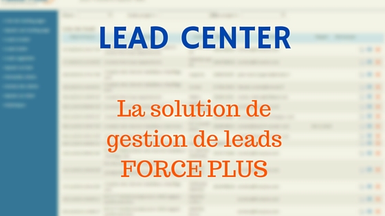 LEAD CENTER | services de gestion de leads BtoB
