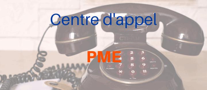 Centre d'appel pour PME