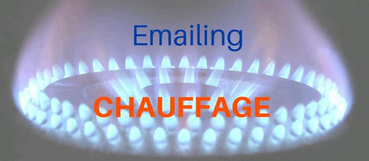 Emailing pour le chauffage