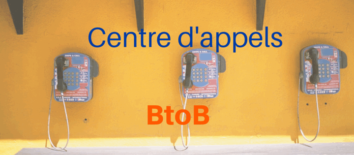 Centre d'appels BtoB
