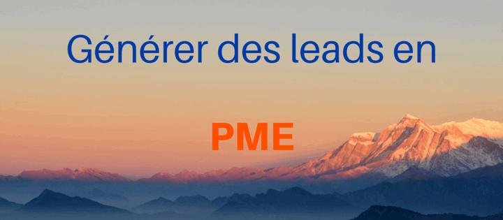 Générer des leads en PME