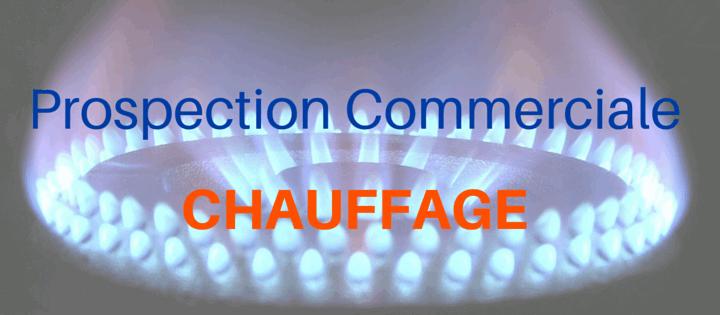 Prospection commerciale chauffage
