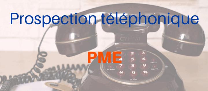 Prospection téléphonique pour PME