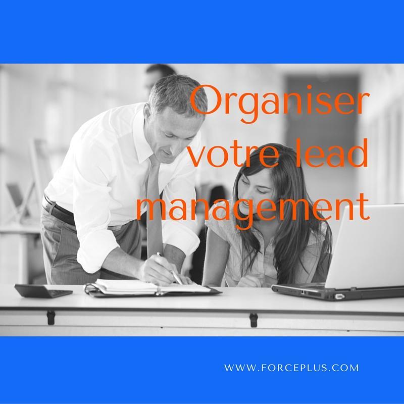 Organiser lead management