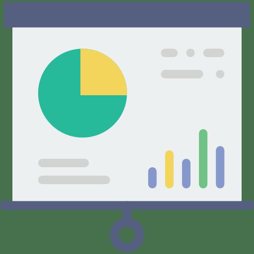 Graphique études de marché BtoB