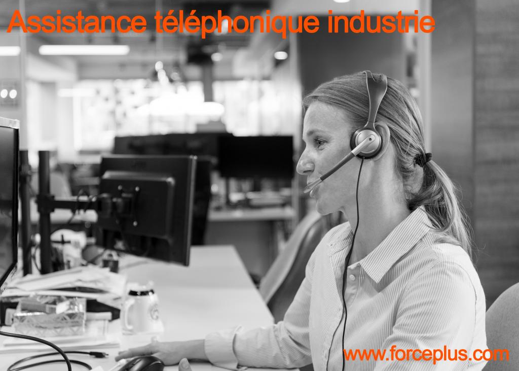 Assistance téléphonique industrie