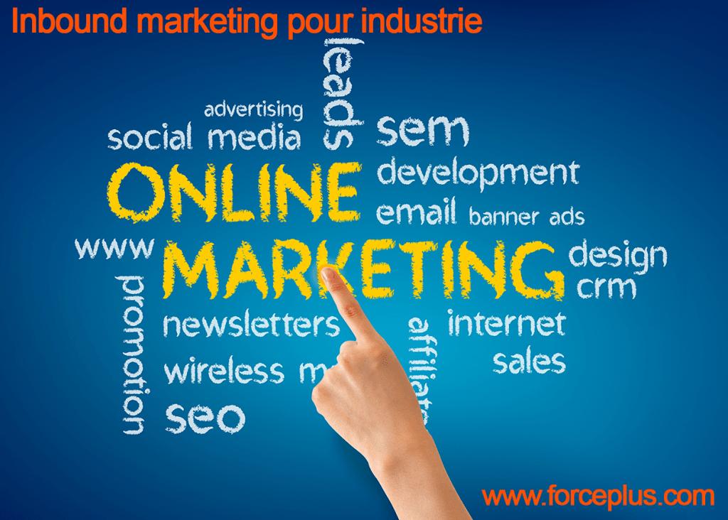 Inbound marketing pour industrie FORCE PLUS