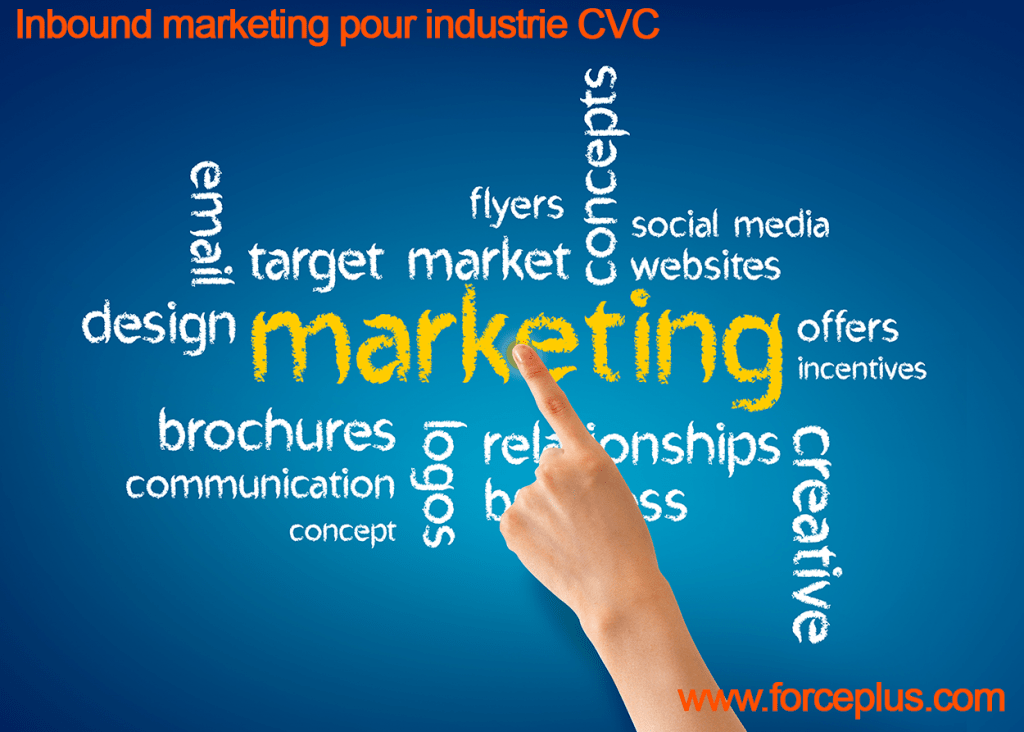 Inbound marketing pour industrie CVC