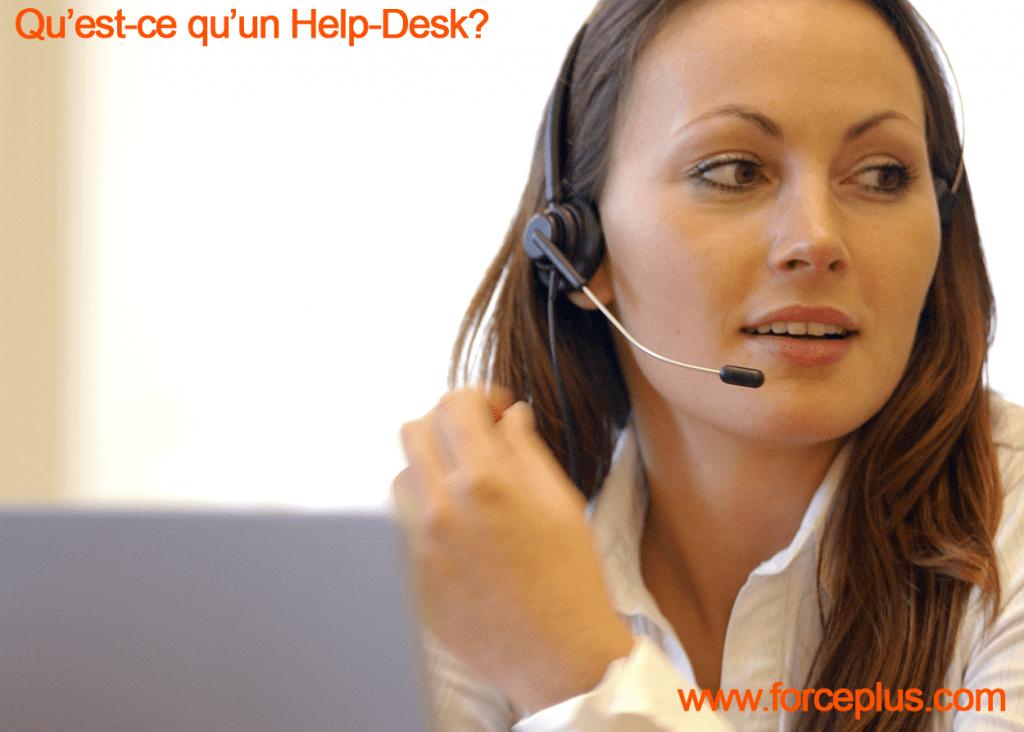 Qu'est-ce qu'un Help Desk?