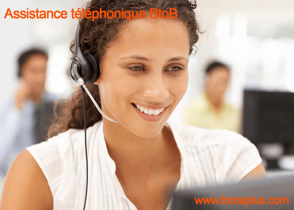 assistance téléphonique BtoB