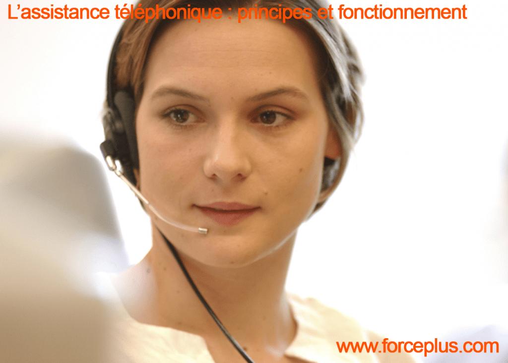 assistance téléphonique principes