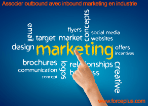 associer outbound avec inbound marketing en industrie