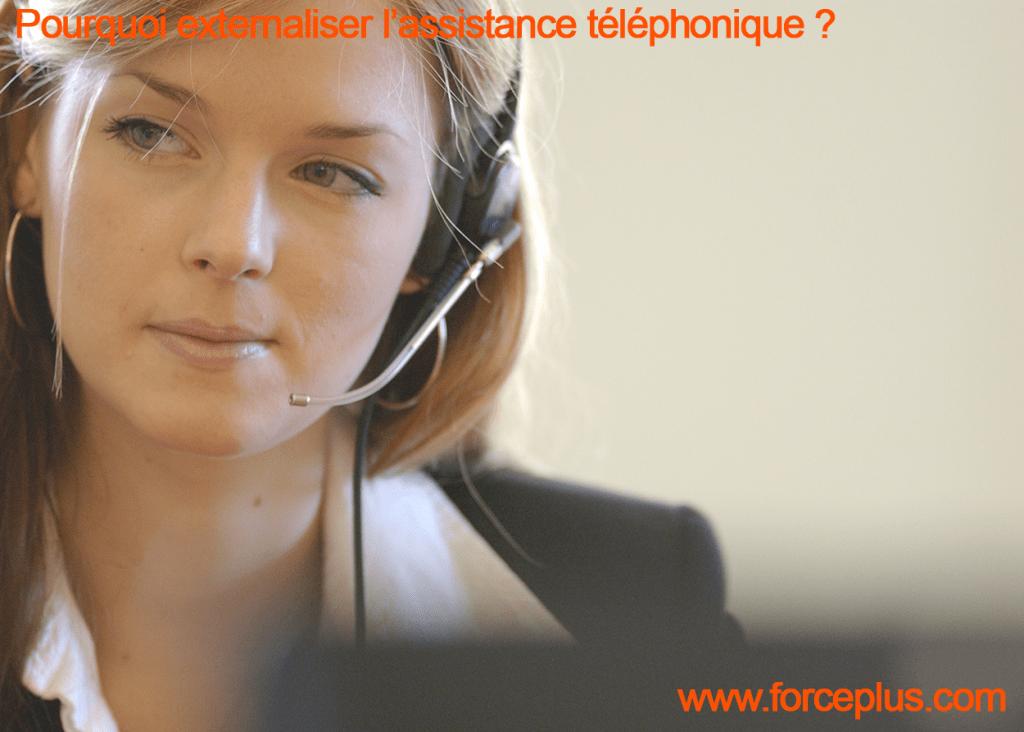 externaliser l'assistance téléphonique