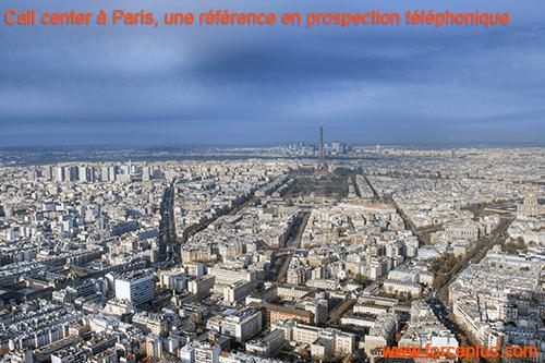Call center à Paris