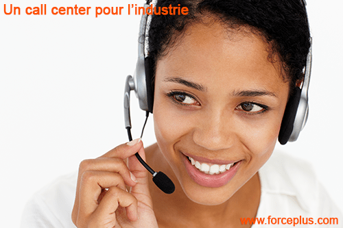 Call center pour industrie