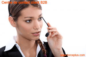 Centre contact client B2B