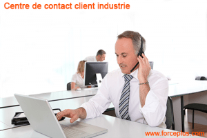Centre contact client industrie