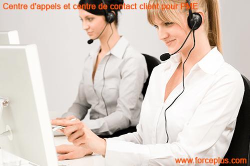 Centre d'appels et centre de contact client pour PME