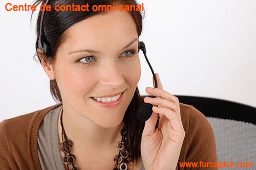 Centre de contact client omnicanal