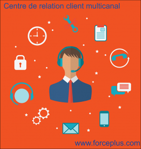 centre relation client multicanal