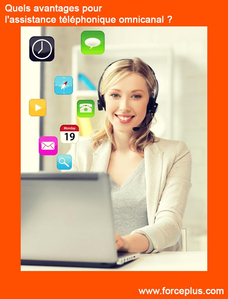 Quels avantages pour l'assistance téléphonique omni-canal ?