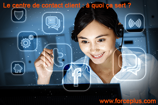 centre de contact client