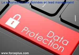 sécurisation des données en lead management