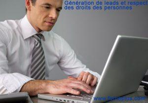 Droits des personnes et génération de leads