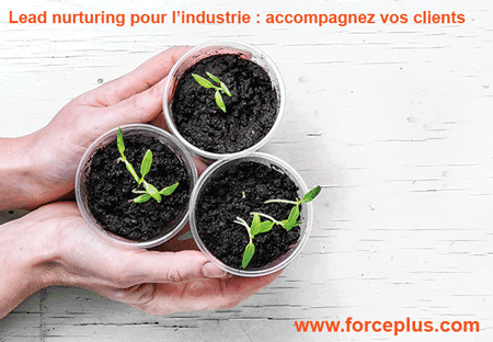 Lead nurturing pour l'industrie | FORCE PLUS