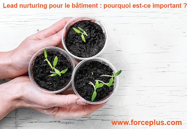 Lead nurturing pour le bâtiment | FORCE PLUS