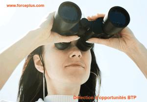 détection d'opportunités BTP   FORCE PLUS