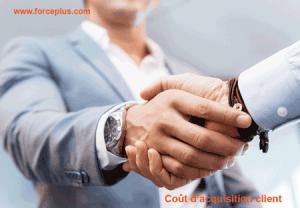 coût d'acquisition client | FORCE PLUS