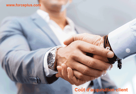 coût d'acquisition clients | FORCE PLUS