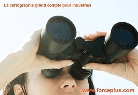 Cartographie grand compte pour industries, ciblez mieux | FORCE PLUS