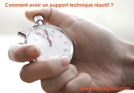 support technique réactif | FORCE PLUS